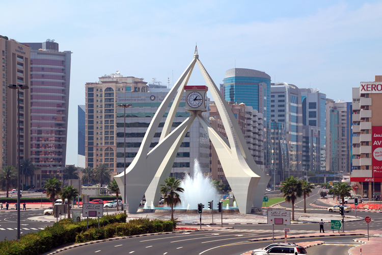 roundabout monuments in the uae